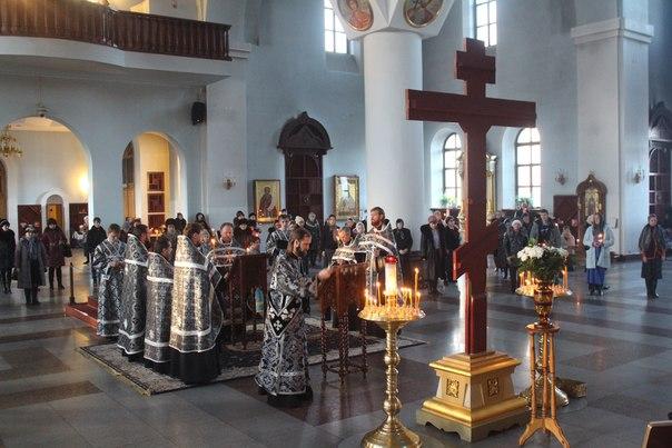 Чин Пассии в Казанском кафедральном соборе